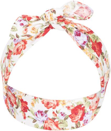 Küstenluder SOFIE Haarband Floral ROSE Blumen Nickituch BANDANA Rockabilly