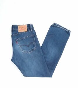 Levi-039-s-Levis-Jeans-504-W31-L32-blau-stonewashed-31-32-Straight-JA5386