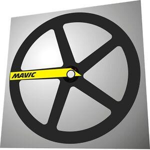 MAVIC COMETE OVAL MAVIC LOGO REPLACEMENT DECAL SET FOR 1 DISC!