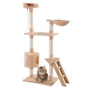 image is loading new 60 034 cat tree tower condo scratcher  new 60   cat tree tower condo scratcher furniture kitten pet house      rh   ebay