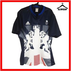 Adidas-Team-GB-football-shirt-XL-Soccer-Jersey-olimpics-Grande-Bretagne-Rio-2016