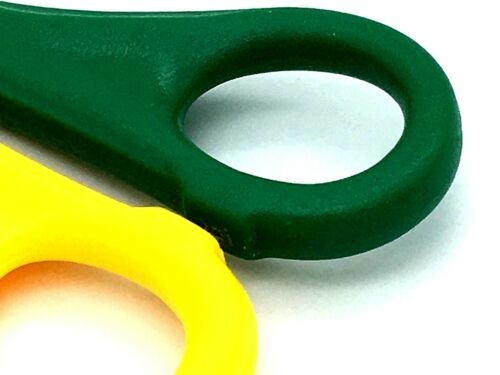 441 Left Handed Scissors 12cm BEROL Bertie 50mm Stainless Ruled Measuring Edge