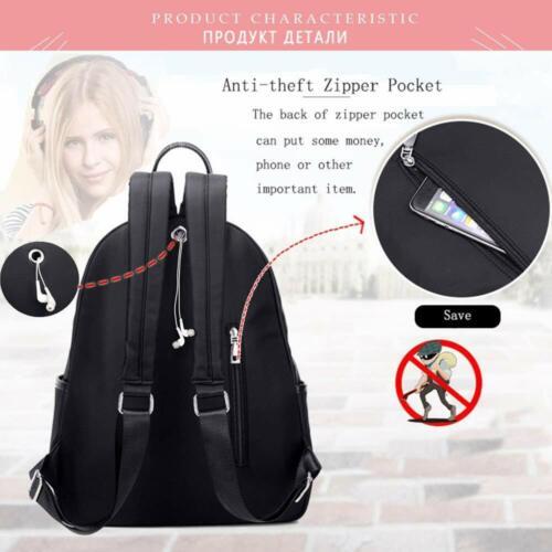 Girls Womens Shoulder Backpack Rucksack College School Bag Pack Travel Satchel