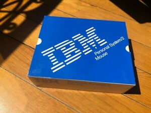NEW-OLD-STOCK-IBM-Vintage-mouse-for-PS-1-PS-2-Personal-System-2-BOXED-NEW