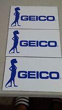 REFRIGERATOR MAGNET GEICO GECKO SET OF 3