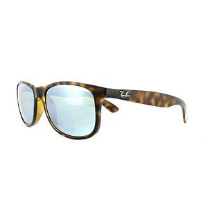 Ray-Ban Sunglasses Andy 4202 710 Y4 Havana Silver Mirror Polarized ... b798c7883e