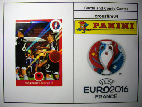 Russia Panini Adrenalyn em euro 2016-Romania Bosnien todas las tarjetas nº 298-351
