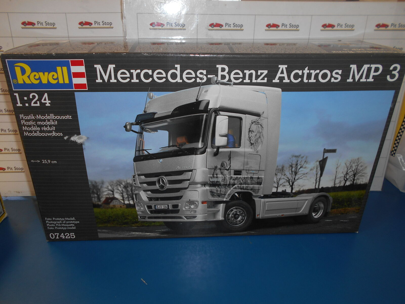 REV07425 by REVELL MERCEDES-BENZ ACTROS MP3 - KIT DI MONTAGGIO - 1 24
