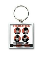BEATLES KEYCHAIN KEY RING 1962 PERFORMING LIVE OFFICIAL KEYRING CHAIN QUALITY