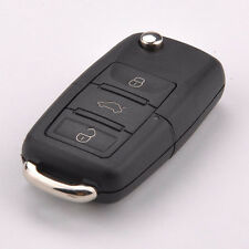 New Folding Car Remote Flip Key Shell Case Fob For Volkswagen Vw Jetta Golf