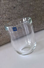 Trink Glas Arabia Finnland Finn Crystal Skandinavien Schale Vase Teelicht