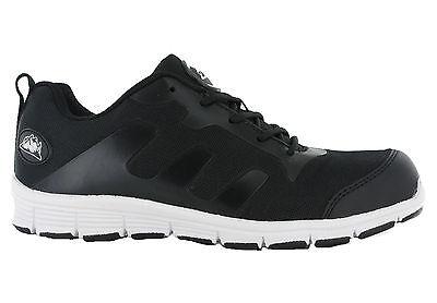 Groundwork GR95 Seguridad Puntera De Acero Zapatos de trabajo ligero de Encaje Entrenadores UK 7-11
