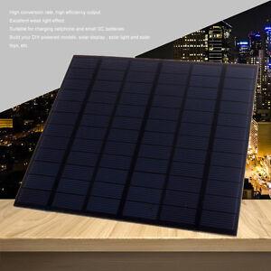 3/4/5/10W DIY Monocrystalline Silicon Solar Panel Module DIY for Phone Light Toy