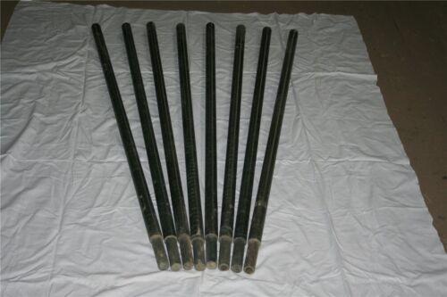 8 GFK Zaunpfähle Zaunpfahl Tarnnetzstangen Rohr Weidepfahl Kunststoffpfähle