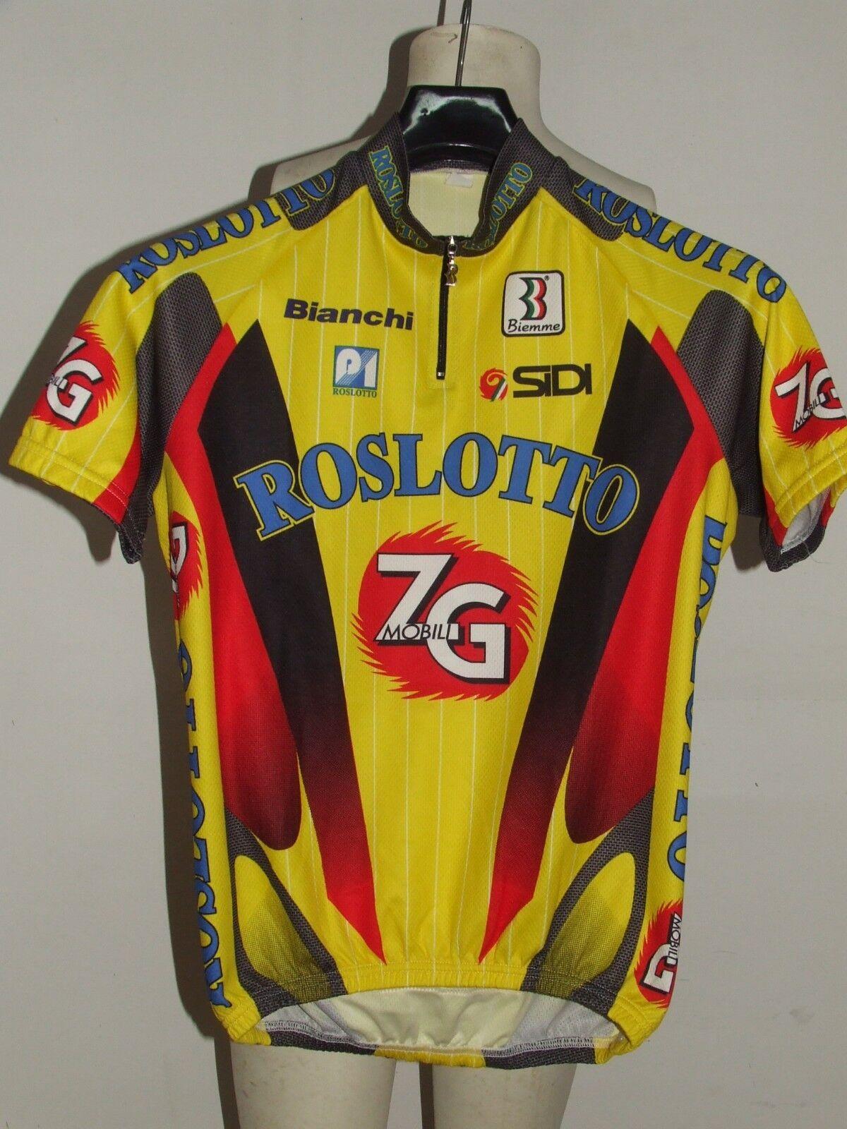 MAGLIA BICI CICLISMO SHIRT MAILLOT CYCLISM TEAM ZG ROSLOTTO BIEMME  tg. M  factory outlet online discount sale