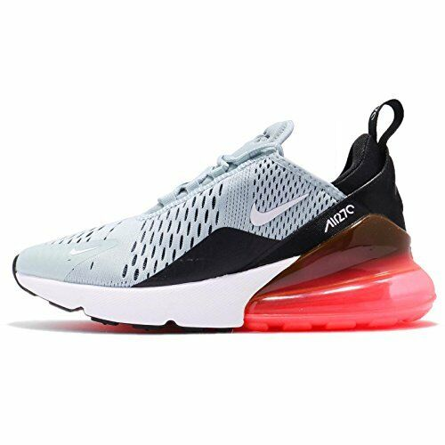 NIKE Women's WMNS Air Max 270, Ocean Bliss/White-Black-Hot Punch, 9 M US