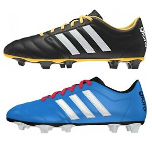 Roble antepasado Cantidad de  adidas Gloro 16.2 FG Men's Football Boots Firm Ground Moulded Studs Black  Blue   eBay