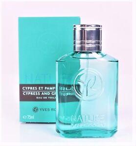 Yves Rocher Nature Cypress and Grapefruit eau de toilette for men 75 ml 31495
