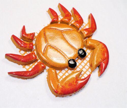 Krabbe Farbe:orange//rot Mosaiksteine Varianten:Grösse mini oder mittel
