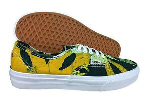 2a1e71310b VANS. Authentic. Della. Batik. Yellow   Green. Unisex Shoe. Mens US ...
