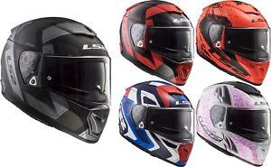 LS2-FF390-Breaker-Casco-per-Moto-Integrale-o-Opzionale-Visiera-Road-Touring