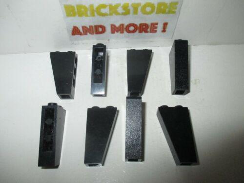 Lego Choose Quantity x2 x8 Slope Pente Brick Inverted 2x1x3 2449 Black//Noir