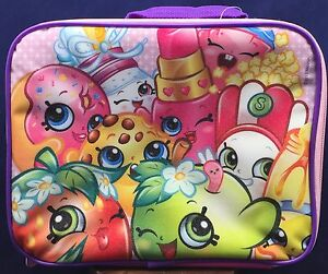 Shopkins-Lunch-Box-Bag-Rectangular-Insulated-Tote-Pink-Glitter-Finish-Moose-Ent