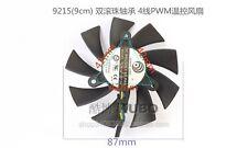 For MSI N460GTX N560 570 580 GTX HD6870 graphics card fan 12V 0.55A 4-pin 2 Ball