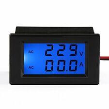Drok Ac 100 300v 100a Digital Voltage Current Multimeter Lcd Volt Amp Meter G