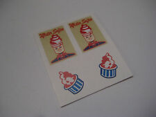 Corgi 428  MR Softee Ice Cream Van Stickers - B2G1F