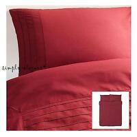 Ikea Alvine Stra Red Duvet Cover Quilt Cover 3 Piece Set Full Queen Extra Soft