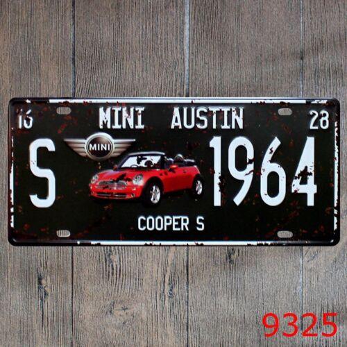 My Garage My Rules Retro Metal Tin Sign Homewares Bar Decor Kitsch Pin Up Pub