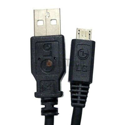 Micro-USB Charger Data Sync Cable Cord For LG Optimus L7 L9 F3 F6 F7 G One