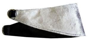 Pair-of-velour-velvet-Silver-black-reversible-Tie-Backs-Curtains-Blind-Holder