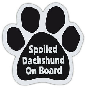 Trucks Dachshunds Have More Fun!Cars Mailboxes Dog Bone Shaped Magnets