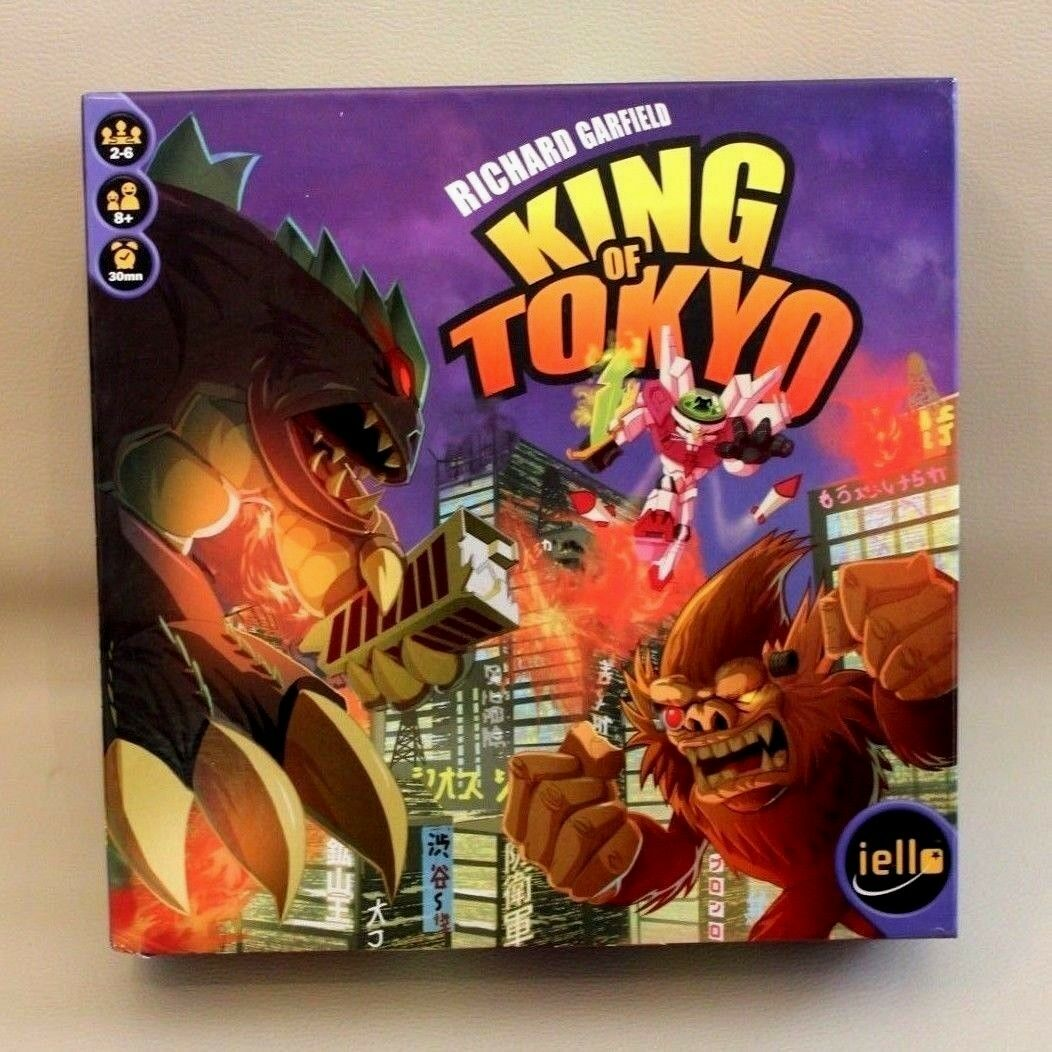 Jeu de société King of Tokyo - iello - - - version française - première édition 2011 041307