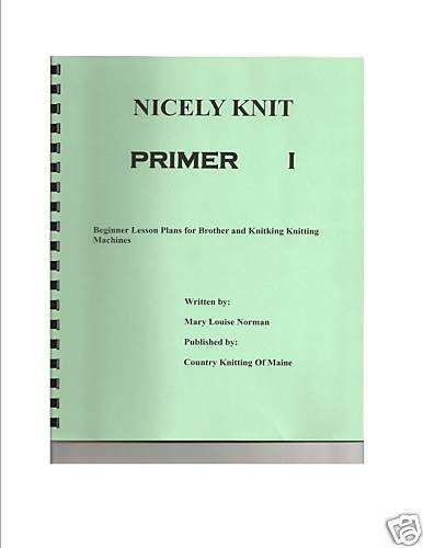Beginner Lessons for  Brother or Knitking