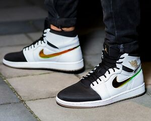 air jordan 1 retro high nouveau dunk from above