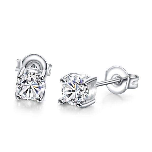 Hypoallergenic Earrings Cz Sterling Silver