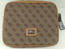 Women's GUESS Brand Brown Beige iPad Tablet Sleeve - $45 MSRP - 10% off