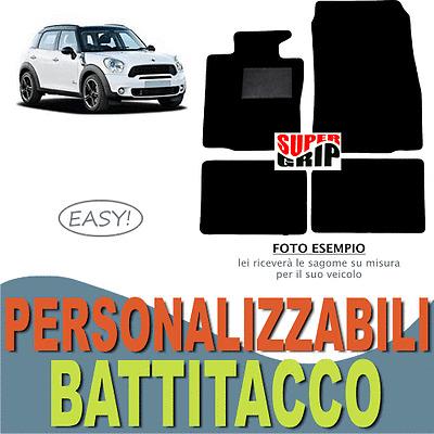 Tappetini su Misura per Auto TAPPETI PEUGEOT 206CC 4 Fix Universali!