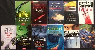16 Romane In 14 Büchern V Besorgt Sammlung Paket Patricial Cornwell Staub Defekt Uva Unterscheidungskraft FüR Seine Traditionellen Eigenschaften