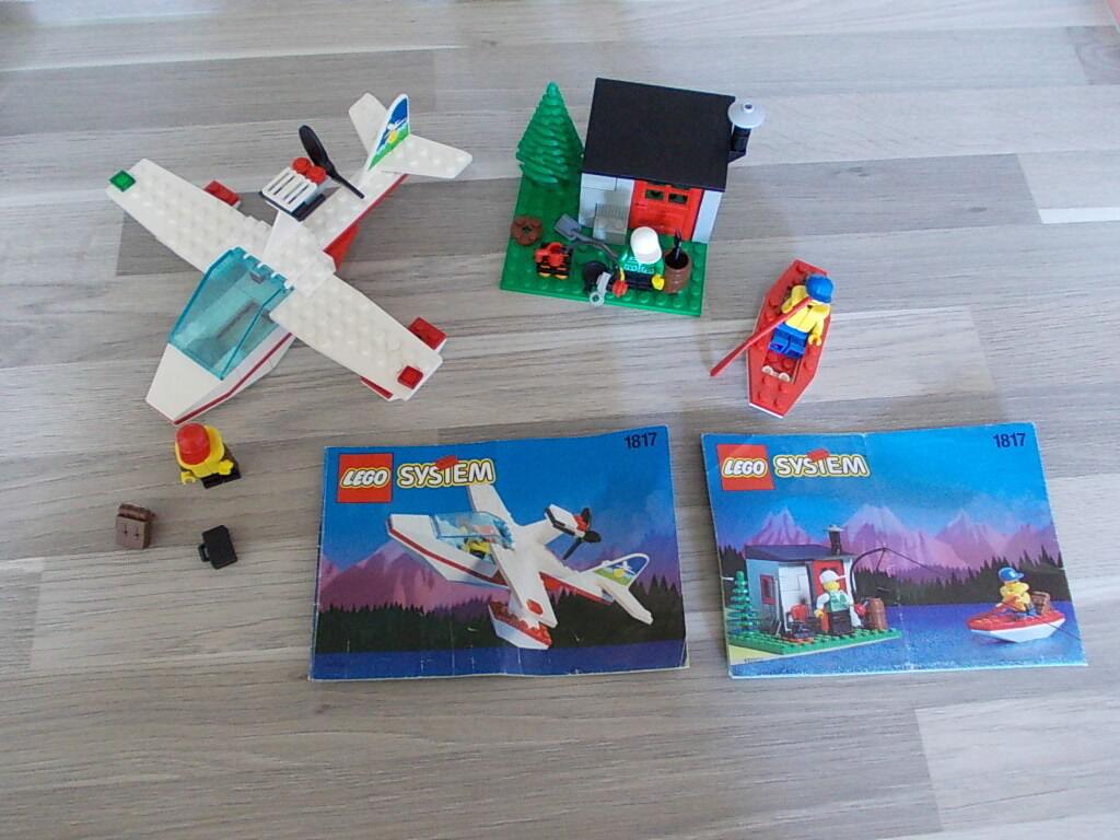 Lego 1817-AVION  fischercabine  Figurines - 100% compléter  recette