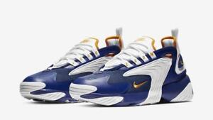 Details about NIKE ZOOM 2K AIR 2000 AO0269 400 DEEP ROYAL BLUE/WHITE/ORANGE  PEEL-ALPHA PROJECT