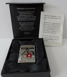 Zippo-75-Years-1932-2007-Germany-1-von-1500-Limited-Edition-Certificate