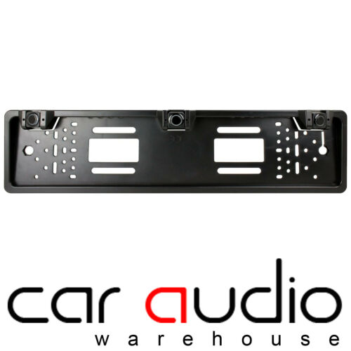 VAUXHALL ZAFIRA Car Number Plate Rear Reversing Reverse Parking Aid 3 Sensor Bar