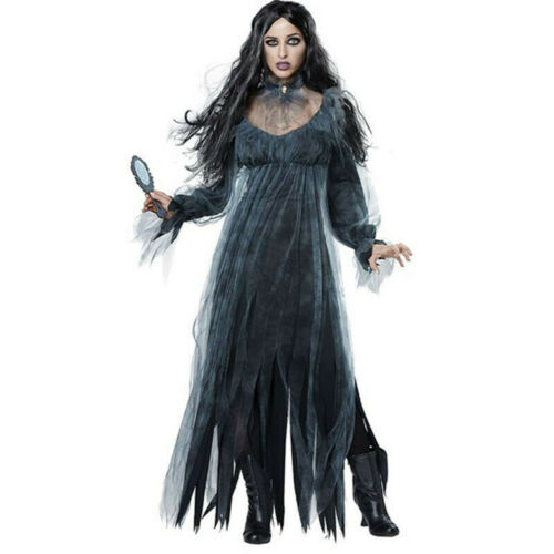 Women cosplay Halloween costume Horror Ghost dead Corpse Zombie Bride Dress