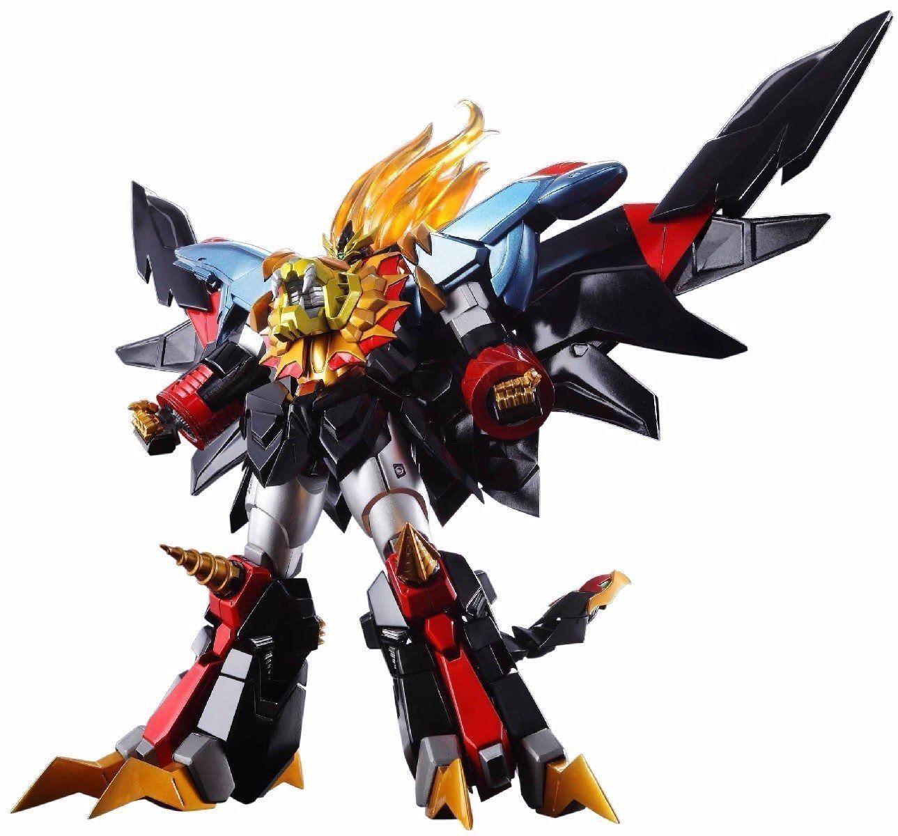 Super Robot Chogokin Genesic Gaogaigar Action Figure Bandai Tamashii Nazioni