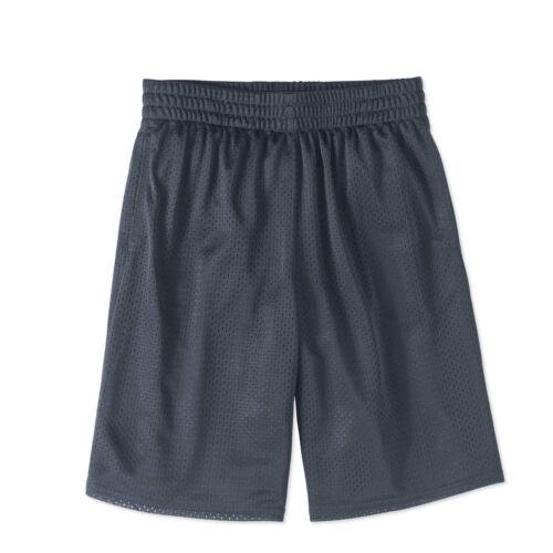 Athletic Works Boys/' Mesh Basketball Shorts Size 8 Medium 10-12 Large