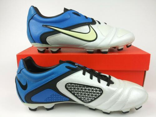 Nike Mens Rare CTR360 Libretto llFG 428731-104 Blue White Soccer Cleats Boots